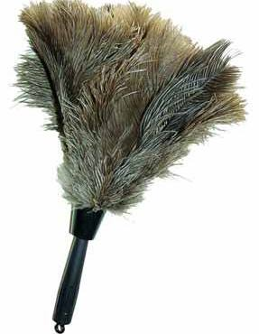 Dodge Packaging 187 Ostrich Feather Duster 14 6in Handle