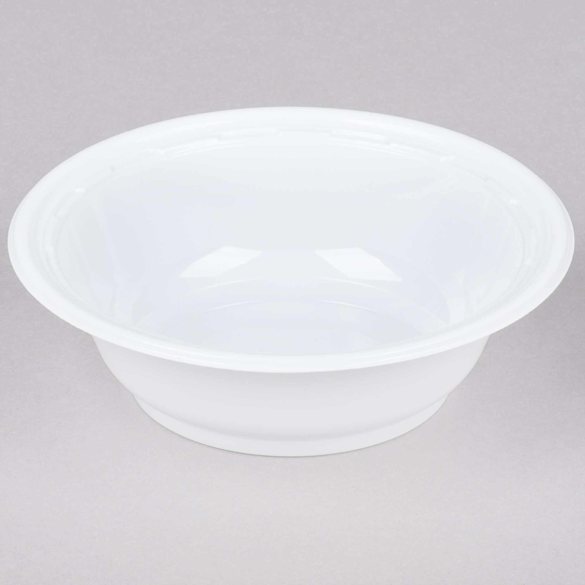 Dodge Packaging » 5oz White Plastic Bowl