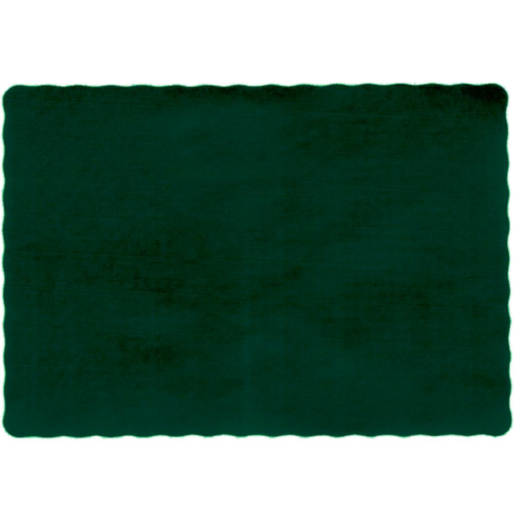 Dodge Packaging 187 13x9 Hunter Green Placemat