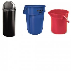 Trash Bins & Buckets